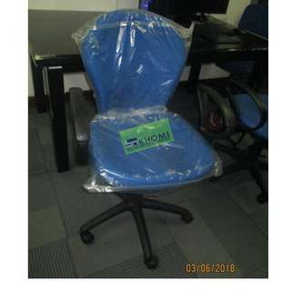 CT-812TGA office furniture - partition BLUE with armrest