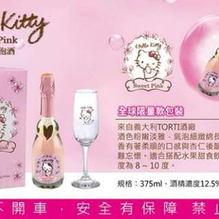 HELLO KITTY SWEET PINK粉紅氣泡