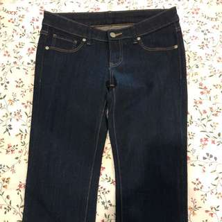 Uniqlo Mid Rise Denim or Maong Pants Jeans