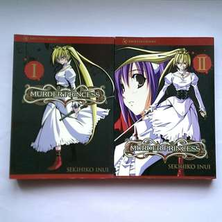 Murder Princess Manga Vol 1 & 2 (Complete) #Swap