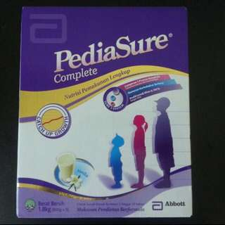 Pediasure package milk powder 1.8kg (3x600g)