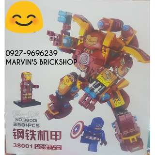 For Sale Iron Man Mech MK46 Building Blocks Toy