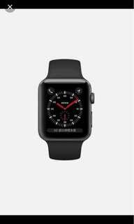 收 Apple Watch series 3
