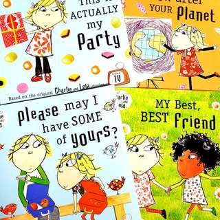 Charlie and Lola Books (Bundle of 4!)