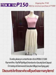 SKIRTS start at 50 pesos! Clearance sale
