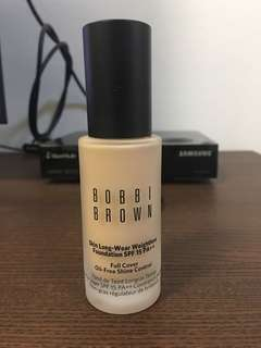 Almost new Bobbi Brown Skin Long-wear Weightless Foundation