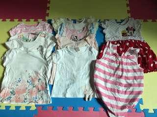 Various kids clothes 12-18 mths