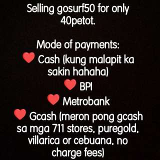 Discounted Gosurf50