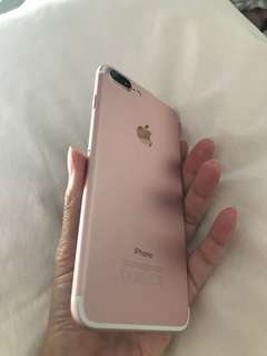 iPhone 7 Plus 32 gb in rose gold