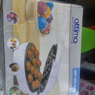Baby cake maker use once only