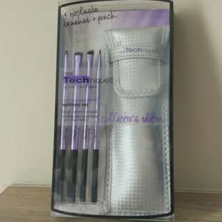 Real Techniques Eyelining Set + Pouch