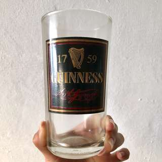 Set of 5 Guinness Cups