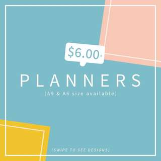 Assorted Monthly Planners (CHEAPEST)