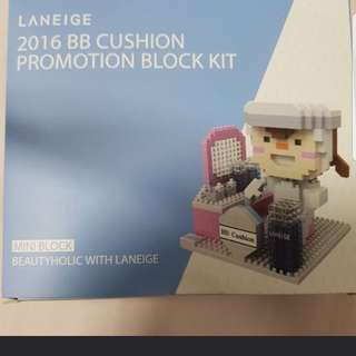 LANEIGE 2016 nano block kit