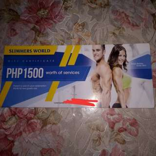 Slimmers World Voucher
