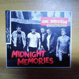 One Direction Midnight Memories The Ultimate Edition 88883774052