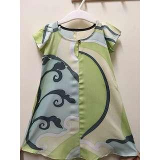 Cotton Batik Baby Blouse