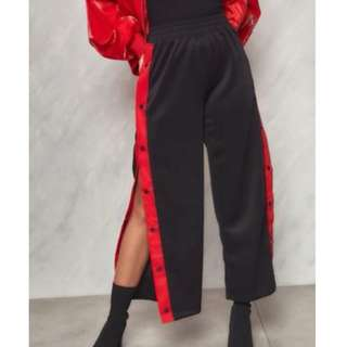 TRACK PANTS WITH SLIT
