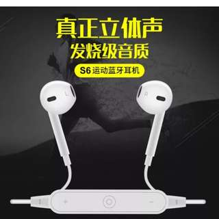 Bluetooth headset#Supports all smart phones#7-11 cod#free shipping