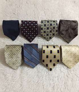 For Take All! Authentic High end Neckties.. Hermes/ Givenchy/ Valentino/ Fendi/ Dior/ Lanvin/ Versace/ Armani
