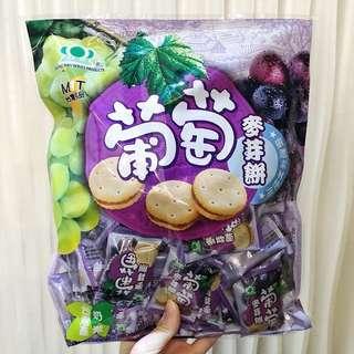 昇田鹹蛋麥芽餅 葡萄麥芽餅 台灣直送 台灣代購