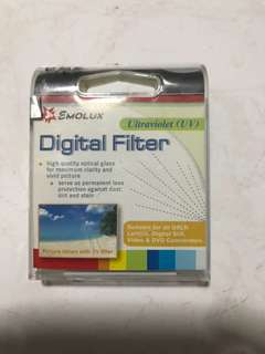 Emolux digital filter lens 52mm