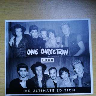 One Direction Four The Ultimate Edition 88843067112