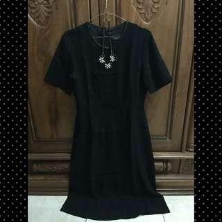 Dress Black (dress hitam)