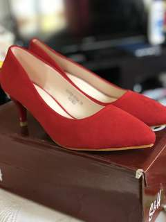 S & H Red Shoes