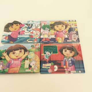 Birthday Party Gifts: Dora Puzzles