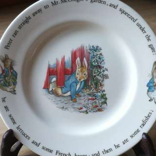 Peter Rabbit & Beatrix Potter Wedgwood side plate and mug