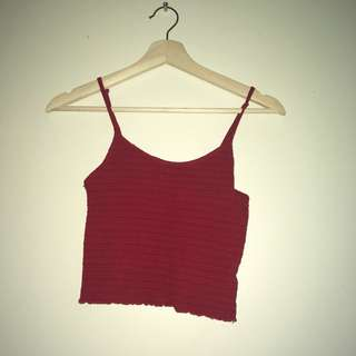 Red Ribbed Crop