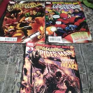Bundle comics: The amazing SpiderMan