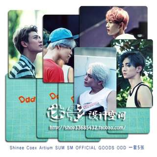 SHINEE ODD UNOFFICIAL PHOTOCARDS (E VER.)