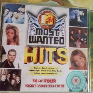 MTV most wanted hits
