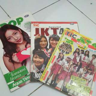 (Take all) Majalah Tic & J-pop