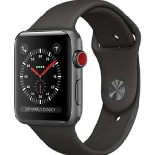 「收」Apple Watch Series 3 42mm GPS+Cellular