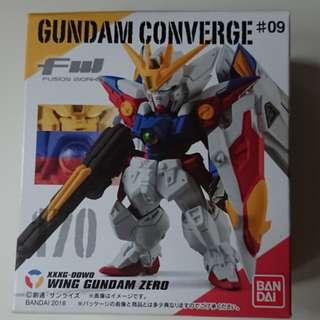 Gundam converge Wing gundam zero 天使 翼