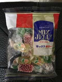 Adachi mix jelly 140g 100% new