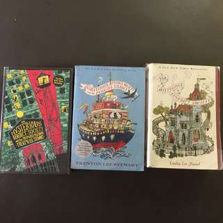 The mysterious Benedict society series books novels