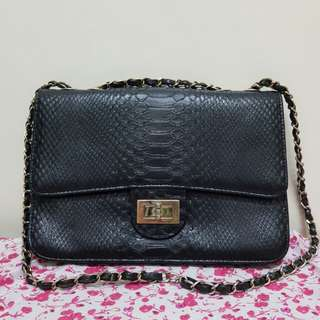 Chanel inspired chain bag