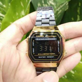 ON SALE: Casio Black & Gold