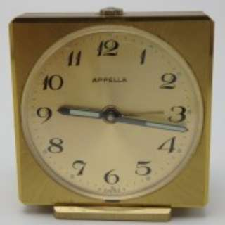 APPELLA - swiss made 7J alarm clock - 座檯響鬧 上鍊鐘