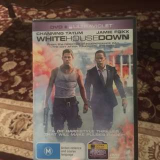 💙White House Down DVD in wrapping