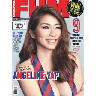 FHM Singapore - February 2015 Issue.
