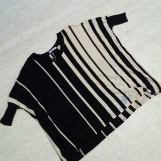 Knitted oversized shirt