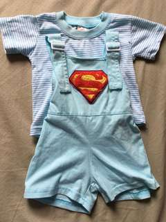 Superman jumper set