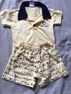 Terno polo shorts with shorts