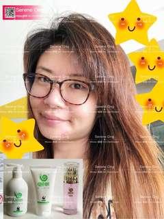 Wowo Ginger Shampoo/ Hair Nutrient Mask / Hair Esssntial
