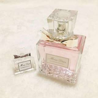 FREE travel size + Dior Blooming Bouquet 100mL